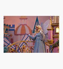 Blue Fairy Photographic Print