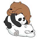 Sleeping Bear Cubs - White by pondlifeforme