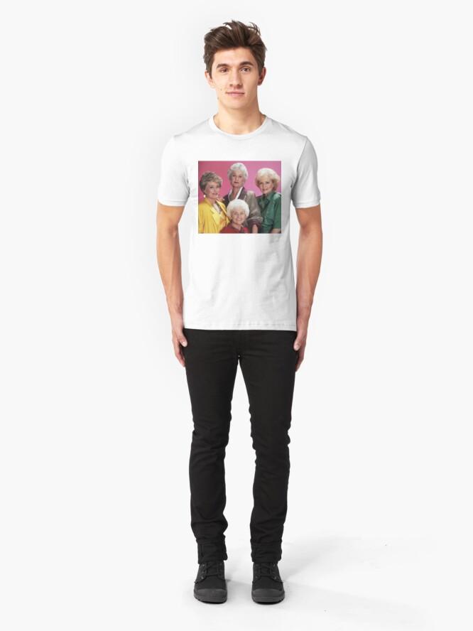 Alternate view of Classic Golden Girls Slim Fit T-Shirt