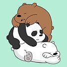 Sleeping Bear Cubs - Mint by pondlifeforme