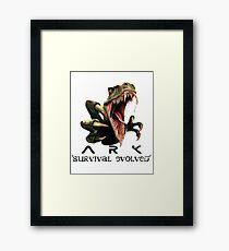 Ark Dino Attack  Framed Print