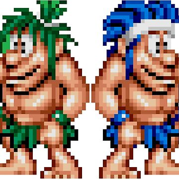 Joe & Mac : Caveman Ninja  by Chadyoxy