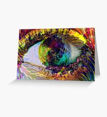Spiritual Eye Greeting Card