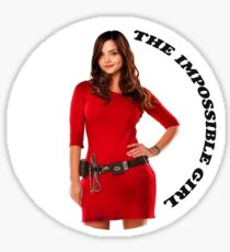 Clara Oswald new impossible Sticker