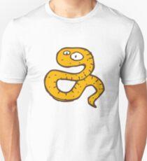 Funny sketchy cartoon snake Unisex T-Shirt