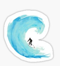 Surfer Sticker