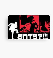 Ant-Mush Canvas Print