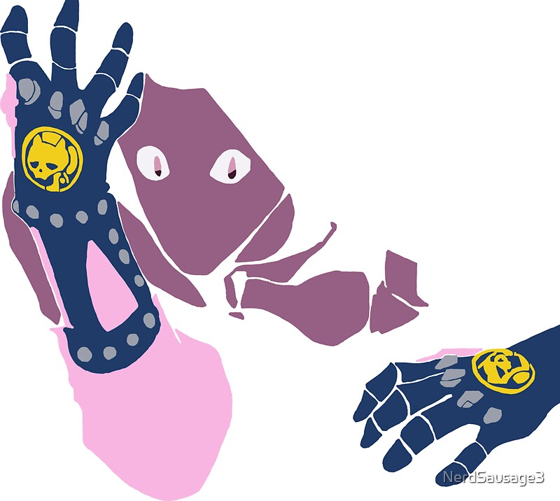 Jojo s bizarre adventure minimalist killer queen bites the dust by