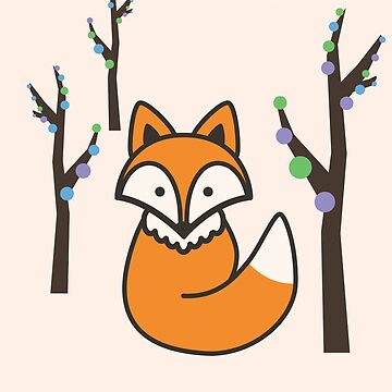 Fox in the Trees by ecimino