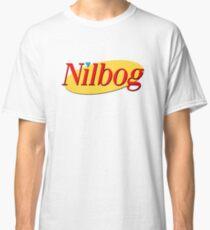NILBOG is GOBLIN spelled backwards. Yadda yadda yadda Classic T-Shirt