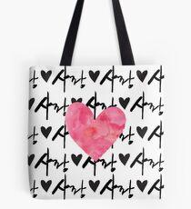 Sarang Love Heart Pink - Korean Tote Bag