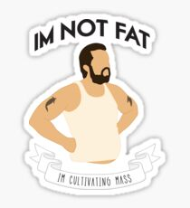 Cultivating Mass (White) Sticker