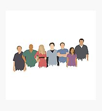 Scrubs Cast Photographic Print