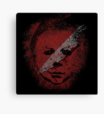 Michael Myers - in the blood Canvas Print