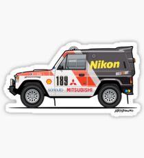 Three Diamond Pajero Turbo 1985 Rally Paris Dakar Winner Sticker