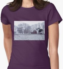 Snow White - Uralla NSW Womens Fitted T-Shirt
