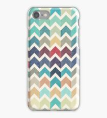 Watercolor Chevron Pattern iPhone Case/Skin