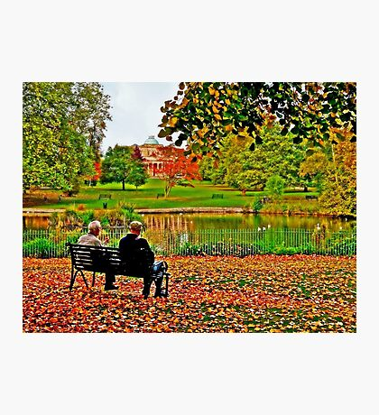Autumn of Their Years Photographic Print
