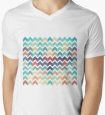 Watercolor Chevron Pattern T-Shirt