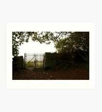 Gate to the Outwoods Art Print