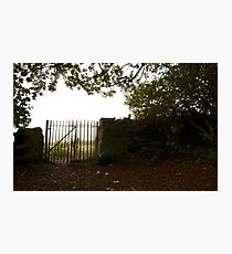 Gate to the Outwoods Photographic Print