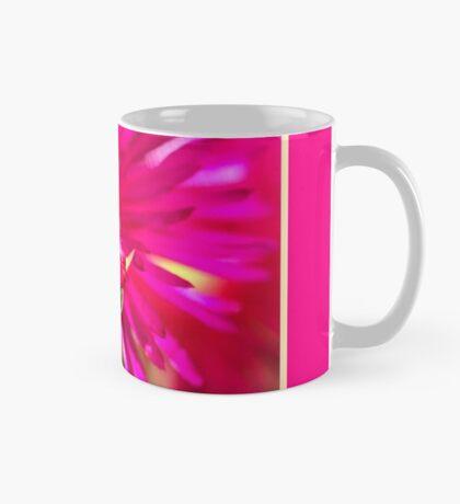 Hot Pink Ice Plant/Pigface Flower Mug