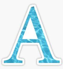 Alpha-Water Sticker
