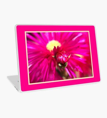 Hot Pink Ice Plant/Pigface Flower Laptop Skin