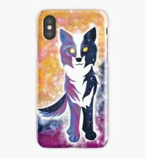 Twilight Sky Wolf iPhone Case/Skin