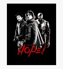 Hope of a Rebel Photographic Print