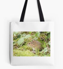 Wood Mouse Tote Bag