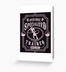 Psychic Specialized Trainer Greeting Card