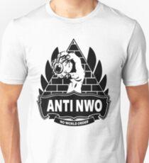 Anti NWO - No World Order T-Shirt