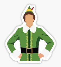 Buddy the Elf Sticker
