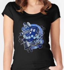 Wibbly Wobbly Timey Wimey... Stuff Women's Fitted Scoop T-Shirt