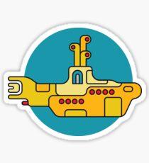 Yellow Submarine Sticker