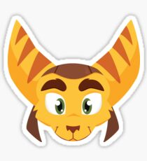 Ratchet from Ratchet and Clank (head) Sticker