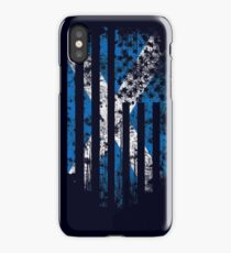 Scotland and America Flag Combo Distressed Design iPhone Case/Skin