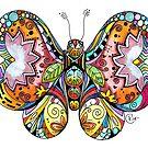 """""""Flutterby"""" by Winterberry  Farm Studio"""