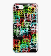 Multi Colour Campervan iPhone Case/Skin