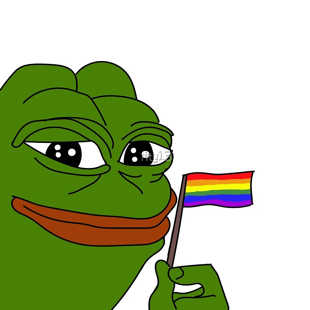 """""""gay pepe"""" by rity13 