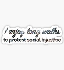 Protest Sticker
