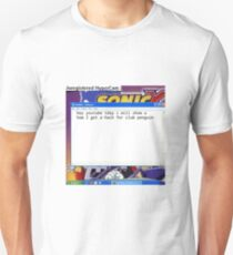 Aesthetic club penguin 2009 youtube merch Unisex T-Shirt
