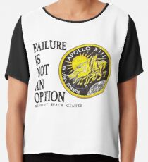 Apollo 11 - Failure is not an option Chiffon Top