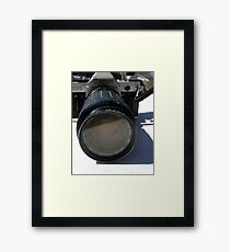 Canon, Old School Framed Print