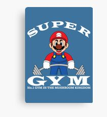Super Gym Canvas Print