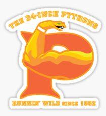 The 24-Inch Pythons Sticker