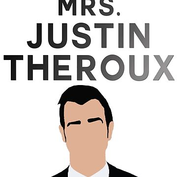 MRS. JUSTIN THEROUX by sarahsdrew