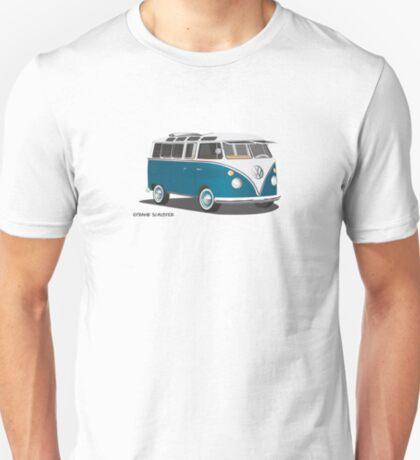 VW Bus T2 Turkis Hippie Van T-Shirt