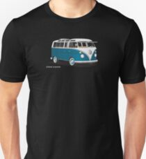 VW Bus T2 Turkis  VW Hippie Van T-Shirt